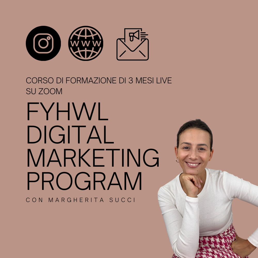 Fyhwl digital marketing program